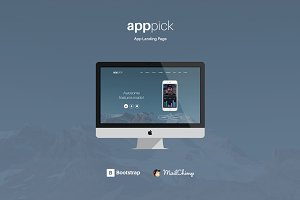 Apppick - Complete App Landing Page