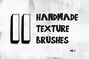 11 Handmade Texture Brushes