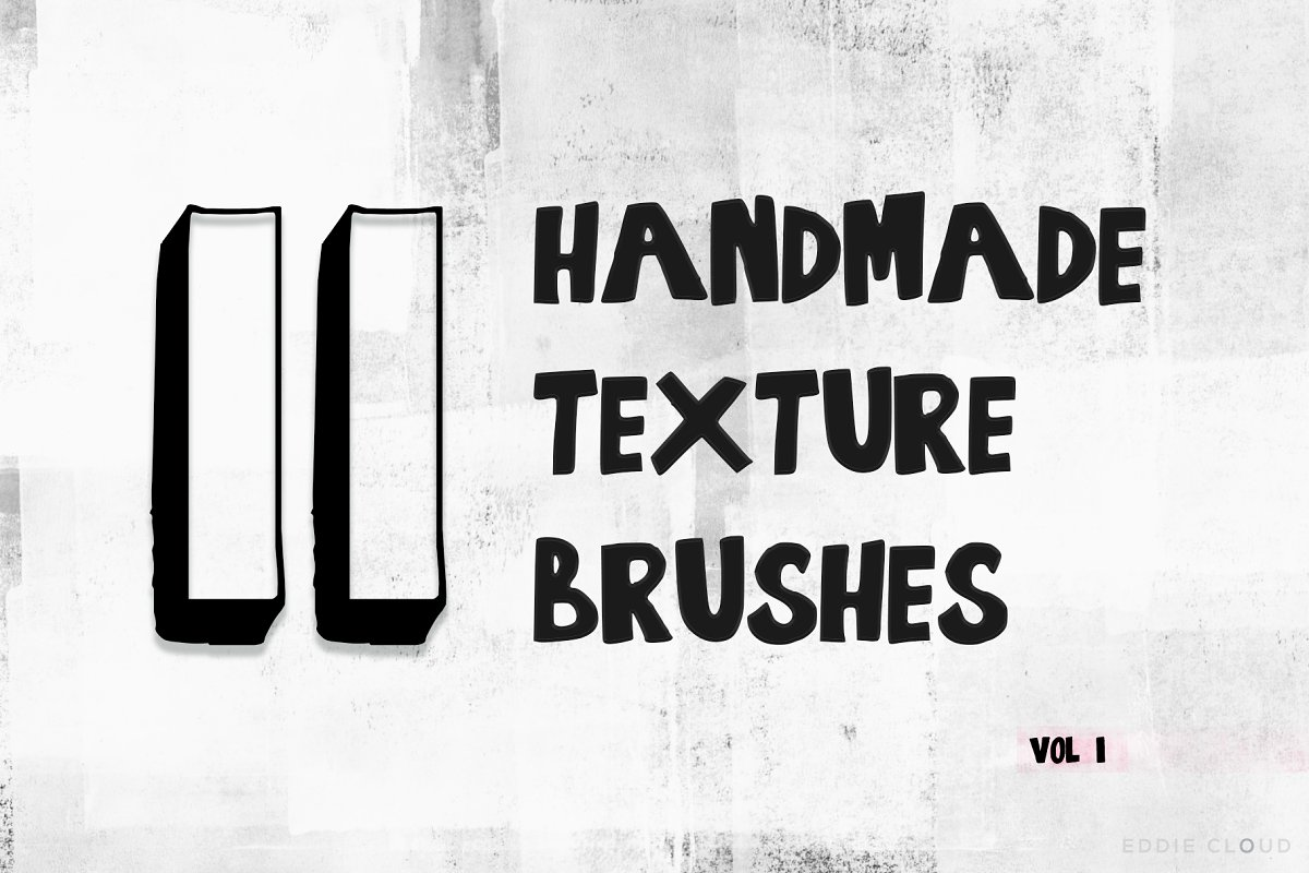 11 Handmade Texture Brushes ~ Photoshop Add-Ons ~ Creative Market