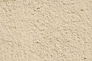 painted wall with beige drop texture