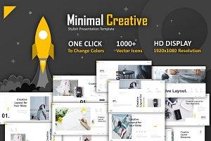 Minimal Creative Powerpoint