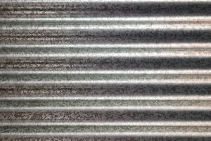 zinc galvanized corrugated metal