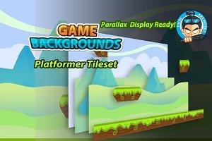 Plat Former Game BG 08