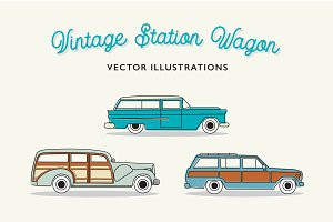 Vintage Station Wagons