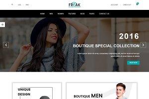 Freak - eCommerce Fashion Template