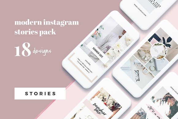 Modern Instagram Stories Pack