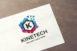 Letter K - Kinetech Logo
