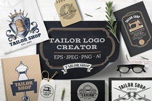 Tailor Logo Creator.