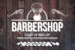 Barber Shop Logo Constructor