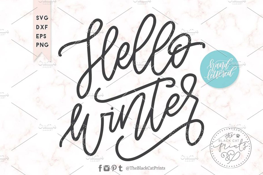 Hello Fall Svg Dxf Eps Png Pre Designed Photoshop Graphics Creative Market