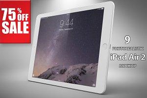 Bundle Apple iPad Air 2 Mock Up Vol2