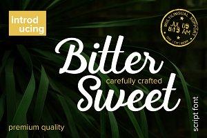 *30%OFF* Bitter Sweet Script Font