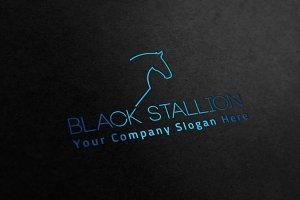 Black Stallion Logo Vol.2