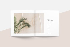 Ginkgo Lookbook Template