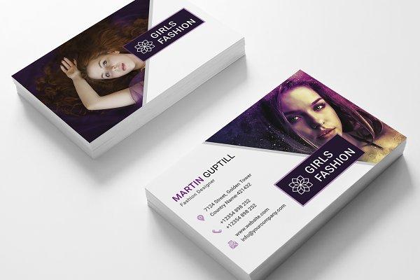 Fashion Business Card Template