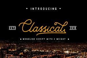 Classical - Classy Monoline