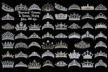 Tiaras/Crowns (Diamonds/Bling)