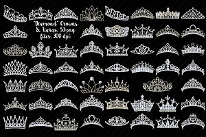 Tiaras/Crowns (Diamonds/Bling)