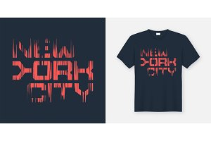 New York Cty t-shirt design