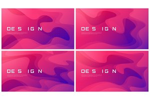 Set of abstract gradient geometric