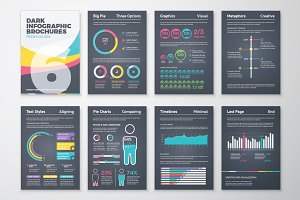 Infographic Brochure 6 Dark Version
