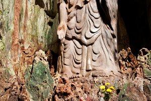 Buddah Rock Statue
