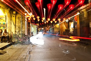 Hoi An Light Trails