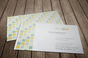 Four Tiles Service Business Card