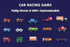 2d Car Game Assets