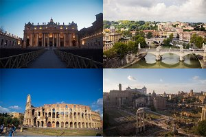 20 HQ Rome&Vatican city Stock photos