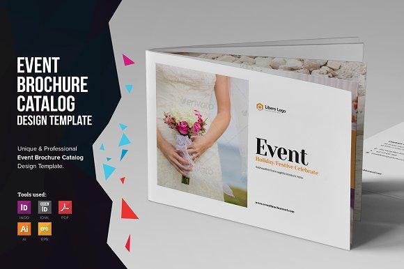Event Brochure Catalog Brochure Templates Creative Market