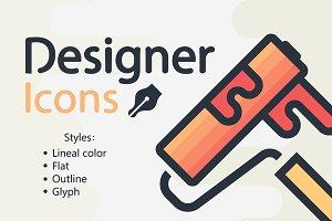 Designer-icons