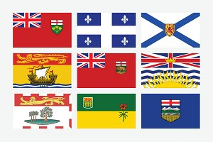 Flags of Canadian Provinces