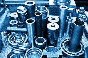 Steel cylinders, pistons and tools