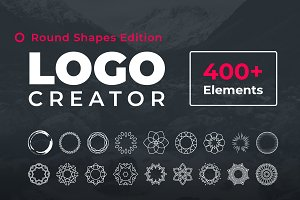 Logo Creator Round Shapes Edition