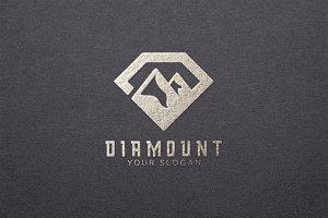Diamond and Mountain Logo