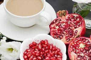 Pomegranate, Coffee Tray
