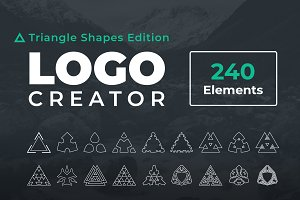 Logo Creator Triangle Shapes Edition