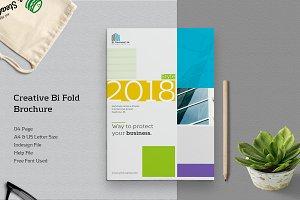 Creative Bi Fold Brochure