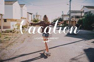 Vacation warm Lightroom preset