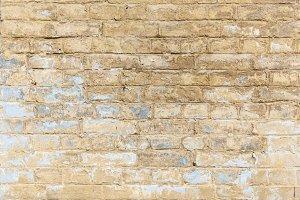 Brick wall blue color.