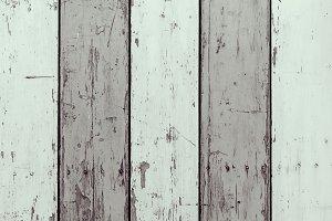 Wooden vintage boards