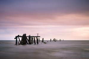 Old Pier Supports