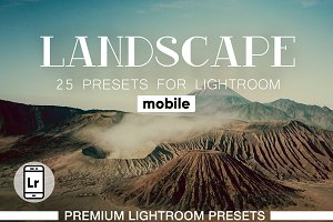 Landscapes Presets Lightroom Mobile