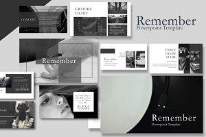 Remeber Keynote