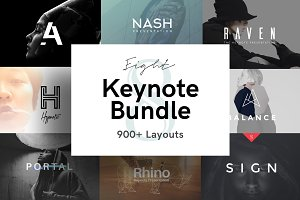 -83% Keynote Presentation Bundle