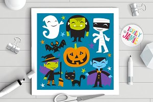 Jolly Halloween Monsters