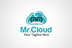 Mr.Cloud - Geek Cloud Logo