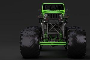 Monster Truck Jeep Wrangler Rubicon