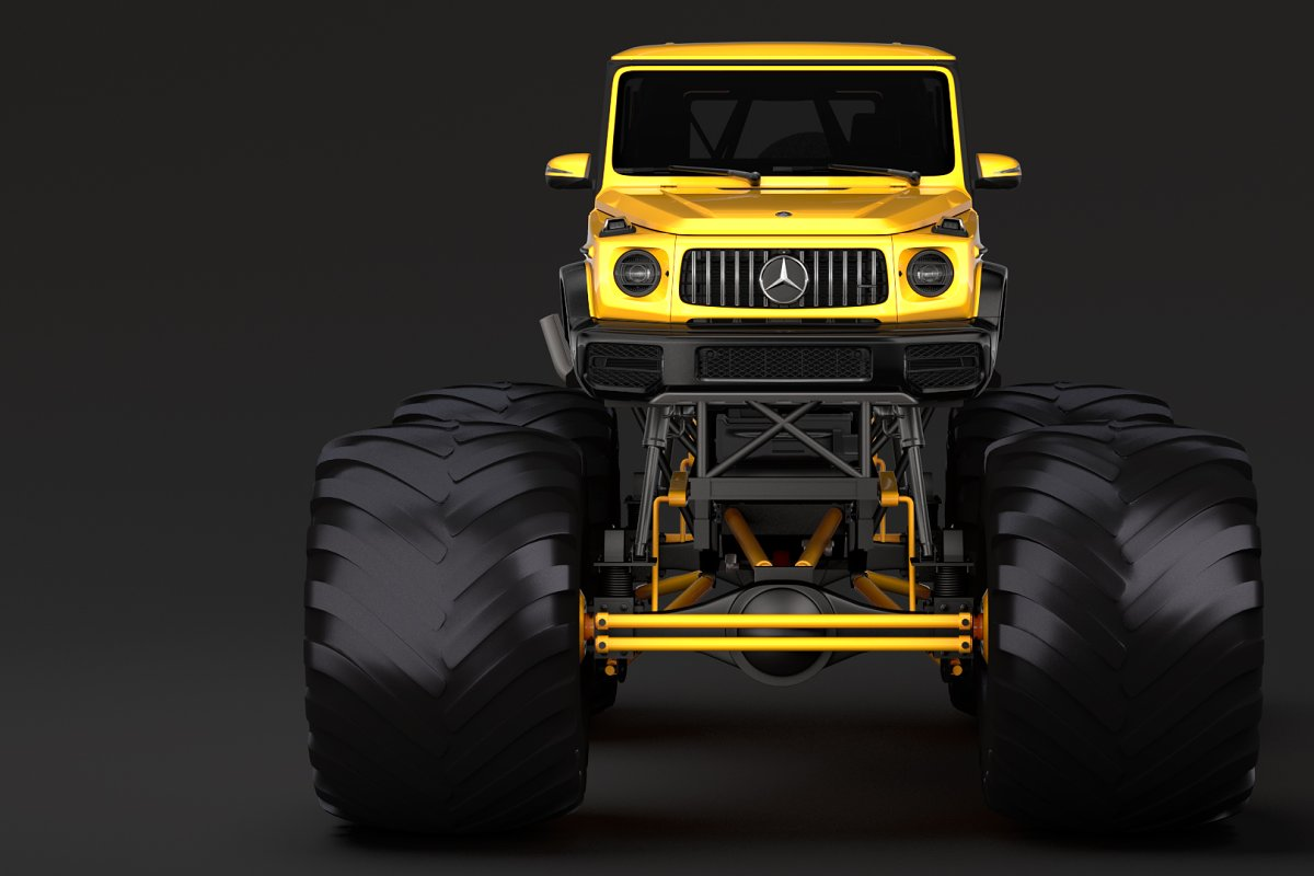 Monster Truck Mercedes AMG G 65